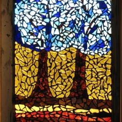 Broken Glass Mosaic